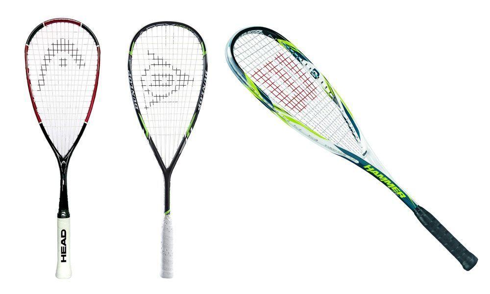 Elegir tu raquetas de Squash