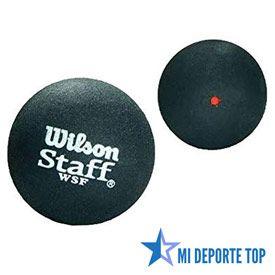 Pelota de squash Wilson de punto rojo