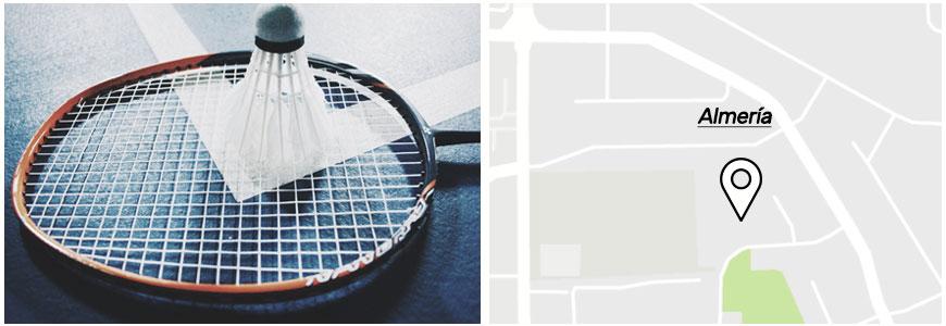 Pistas de badminton en Almeria