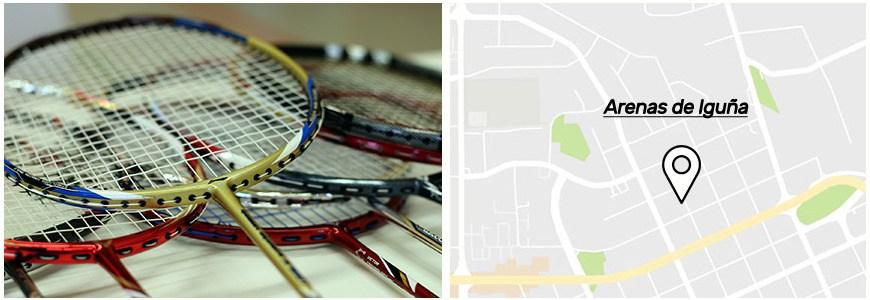 Pistas de badminton en Arenas de Iguna.jpg