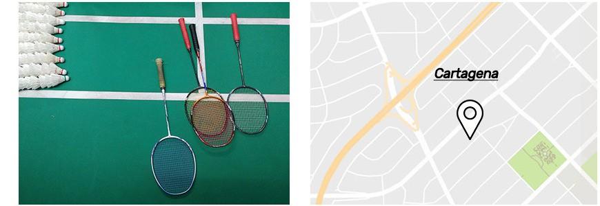 Pistas de badminton en Cartagena.jpg