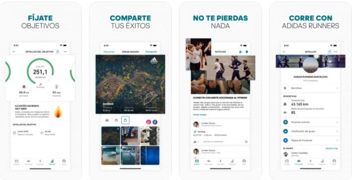 Runtastic app para encontrar gente para hacer running