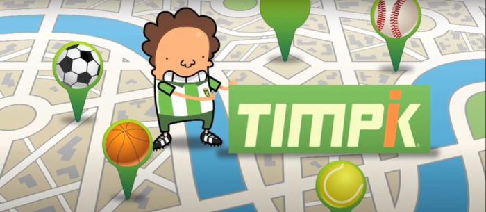 Timpik te permite quedar para hacer deporte con mas gente