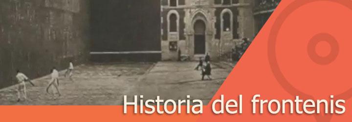 Historia del frontenis
