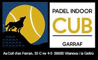 Instalaciones de pádel en Padel Indoor CUB Garraf